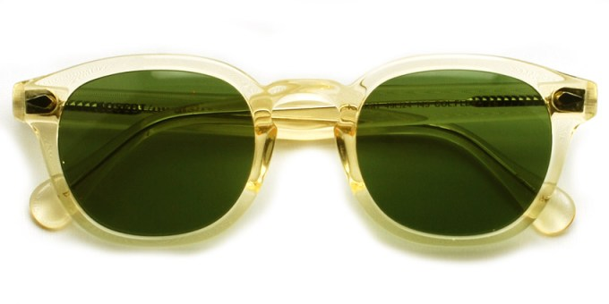 MOSCOT / LEMTOSH Sun / FLESH - C.A. GREEN / ¥30,000 +tax