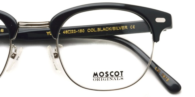 MOSCOT / YUKEL / BLACK - SILVER / ¥28,000 + tax
