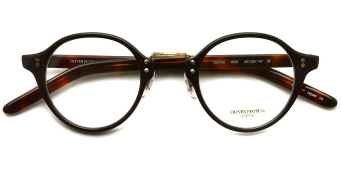 OLIVER PEOPLES / 1955 / BK/DM / ¥31,000 + tax