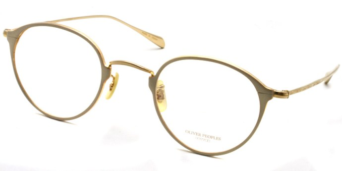 OLIVER PEOPLES / DAWSON / WHTG / ¥34,000 + tax