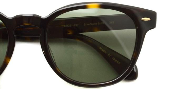 OLIVER PEOPLES /  Sheldrake Sun  /  362  /  ¥31,000 + tax