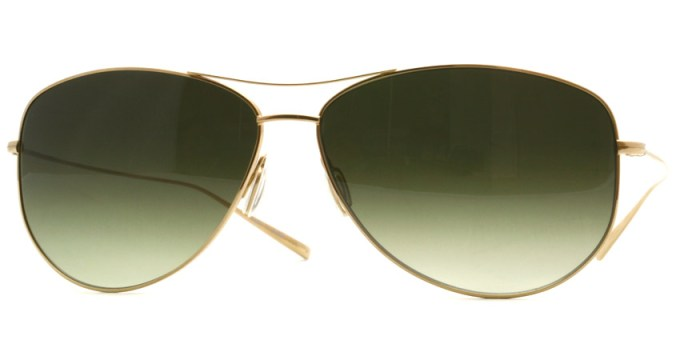 OLIVER PEOPLES /  STRUMMER - F  /  Gold  /  ¥29,000 + tax