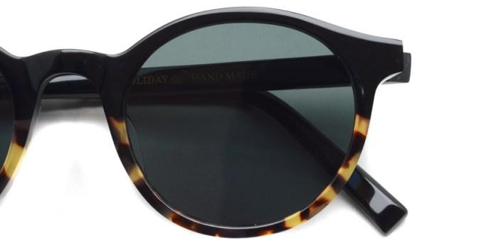 A.D.S.R. / HOLIDAY01 / Shiny Black & Havana Yellow / ¥18,000 + tax