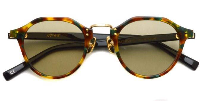 A.D.S.R. / SATCHMO08 / Havana Green- Gold- Light Brown / ¥19,000 + tax