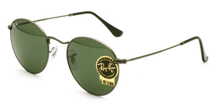 "RayBan  /  RB3447 ""ROUND METAL"" / 029 / ¥21,000 + tax"