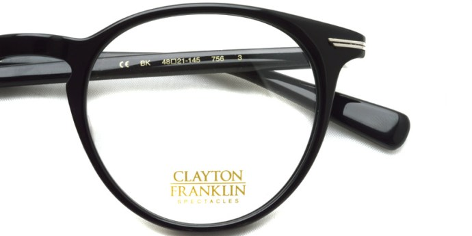 CLAYTON FRANKLIN / 756 / BK / ¥29,000 + tax