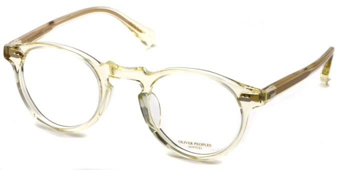 OLIVER PEOPLES / GREGORY PECK -J / BECR / ¥30,000 + tax