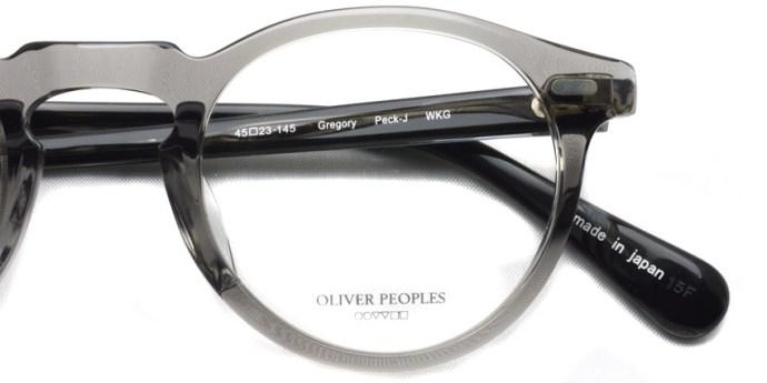OLIVER PEOPLES / GREGORY PECK -J / WKG / ¥30,000 + tax