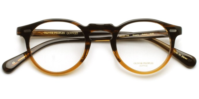 OLIVER PEOPLES / GREGORY PECK -J / 8108 / ¥30,000 + tax