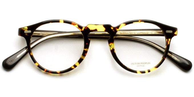 OLIVER PEOPLES / GREGORY PECK -J / DTBBK / ¥30,000 + tax
