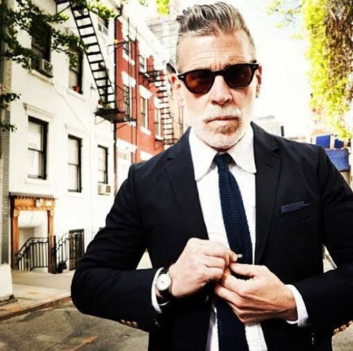 NIck Wooster wearing MOSCOT LEMTOSH Sun