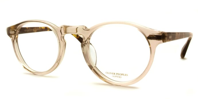 OLIVER PEOPLES / GREGORY PECK -J / BUFF / ¥30,000 + tax