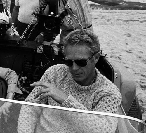 Steve McQueen wearing Persol / 714