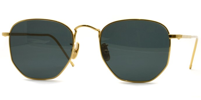 A.D.S.R. / JEFF01 / Gold - Black Lenses /  ¥19,000 + tax