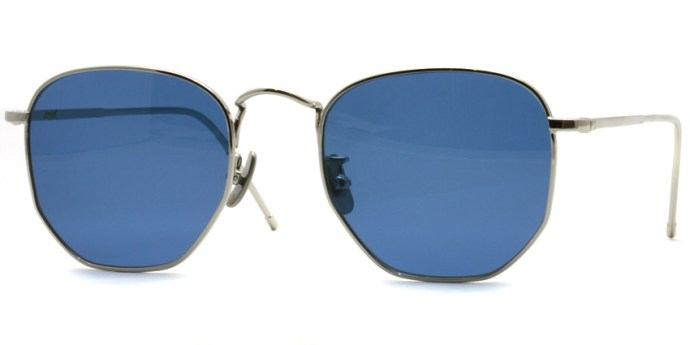 A.D.S.R. / JEFF04 / Silver - Blue Lenses /  ¥19,000 + tax