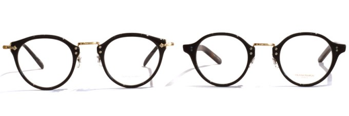 OLIVER PEOPLES / OP-505 (L) & OP-1955 (R)