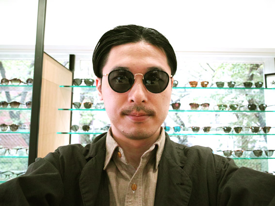 wearing OLIVER PEOPLES / MP-2 Sun / BK - GRY