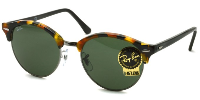 "RayBan  /  RB4246 ""CLUB ROUND"" / 1157 / ¥22,000 + tax"