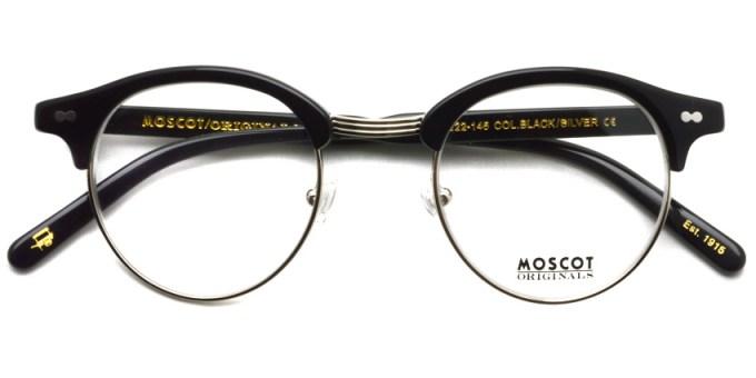 MOSCOT  /  AIDIM /  BLACK - SILVER  /  ¥28,000 + tax