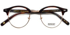 MOSCOT / AIDIM / BURNT TORT - GOLD / ¥28,000 + tax