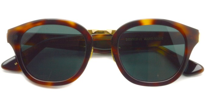 A.D.S.R.  /  DENNIS02  /  HAVANA BROWN - GOLD  /  ¥16,000 + tax