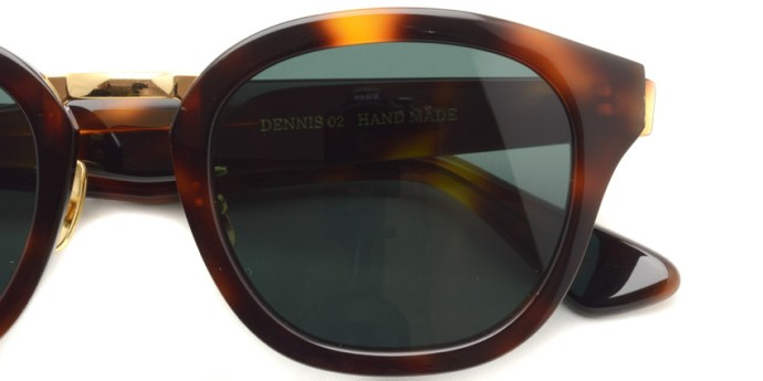 A.D.S.R.  /  DENNIS02  /  HAVANA BROWN - GOLD  /  ¥16,000 + tax