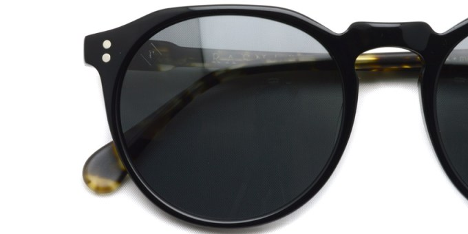 RAEN / REMMY 52 / Black - Matte Brindle Tortoise (Polar) / ¥20,000 + tax