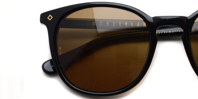 WONDERLAND / BARSTOW / Gloss Black  - Bronze  / ¥23,000 +tax