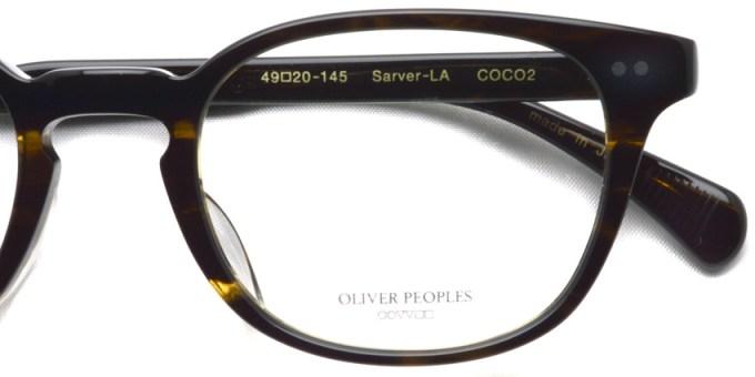 OLIVER PEOPLES / SARVER-LA / COCO2 / ¥30,000 + tax
