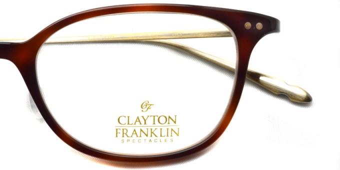 CLAYTON FRANKLIN / 763 / DM / ¥29,000 + tax