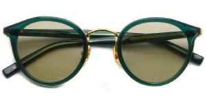 A.D.S.R. / REICH04 / Clear Moss Green - Gold / ¥18,000 + tax