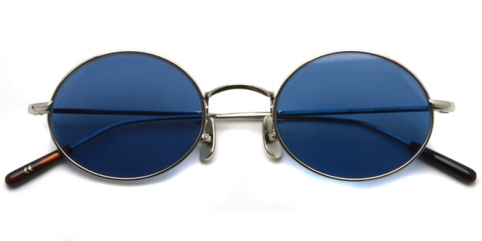 A.D.S.R. / WOLFF02(b) / Silver - Blue Lenses / ¥19,000 + tax