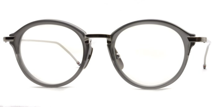 Thom Browne / TB-011 / Satin Crystal Grey - Shiny Silver / ¥65,000+tax