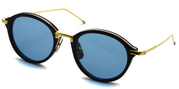 Thom Browne / TB-011 Sun / Navy - Shiny 18K Gold - Dark Blue / ¥67,000+tax