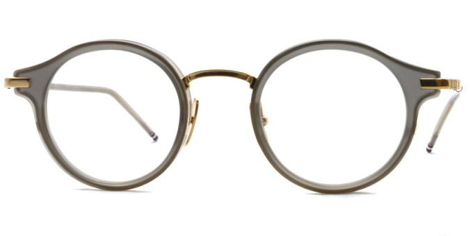 Thom Browne / TB-807 / Satin Crystal Grey - 12K Gold / ¥65,000+tax