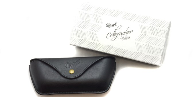 Persol / calligrapher edition case