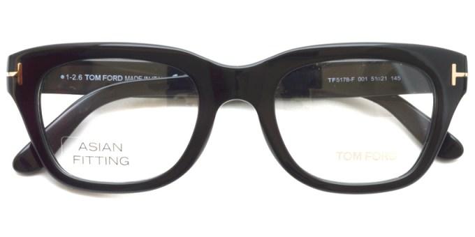 TOMFORD / TF5178F / 001 / ¥40,000 + tax