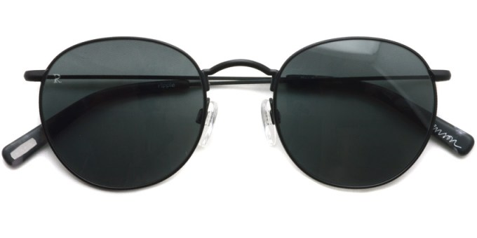 RAEN / BENSON / Matte Black - Matte Ripple / ¥18,000 + tax