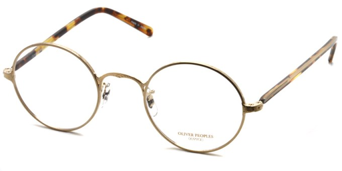 OLIVER PEOPLES / OP-5 / Gold / ¥29,000 + tax