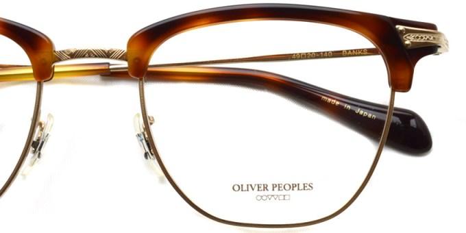 OLIVER PEOPLES / BANKS / DM / ¥33,000 + tax