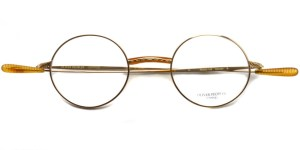 OLIVER PEOPLES / HENSON / Gold / ¥33,000 + tax