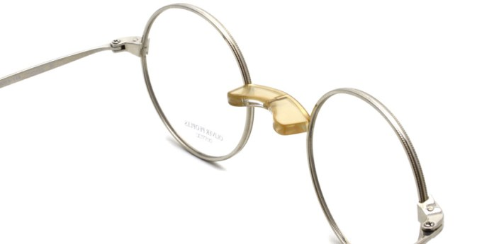 OLIVER PEOPLES / HENSON / Silver / ¥33,000 + tax