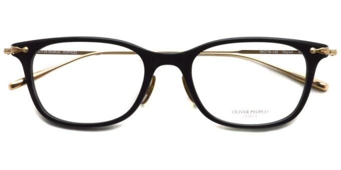 OLIVER PEOPLES / HAYSEL / BK / ¥34,000 + tax