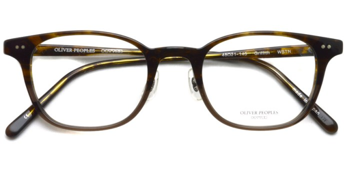 OLIVER PEOPLES / GRIFFITH / WSTN / ¥35,000 + tax
