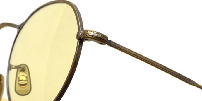 OLIVER PEOPLES / M-4 Sun / Antique Gold - Yellow WASH (Glass Lenses) / ¥38,000 + tax