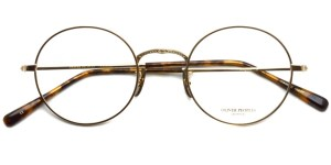 OLIVER PEOPLES / SHEFFIELD / Gold / ¥35,000 + tax