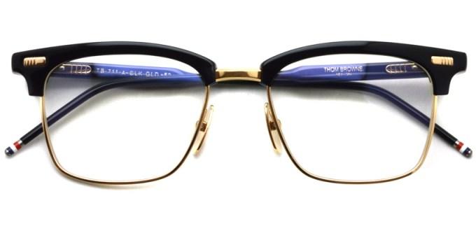 Thom Browne / TB-711 / Black-RWB-12K Gold / ¥65,000+tax