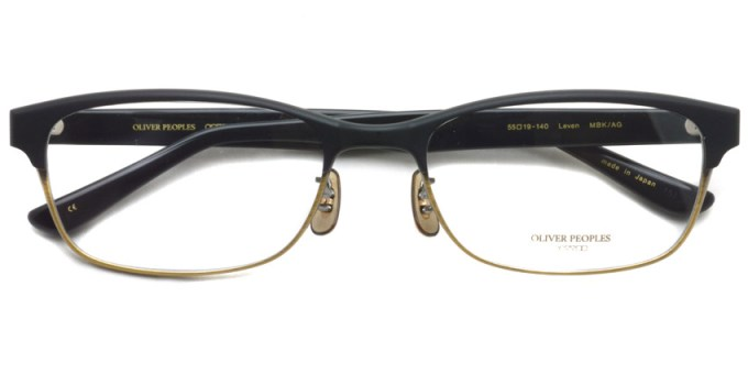 OLIVER PEOPLES / LEVEN / MBK/AG / ¥38,000 + tax