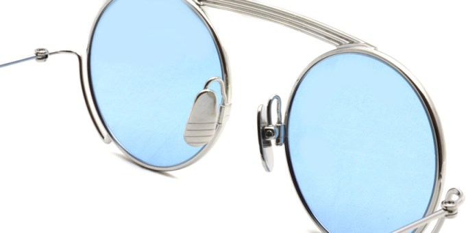 Thom Browne / TB-111 / Silver - Light Blue