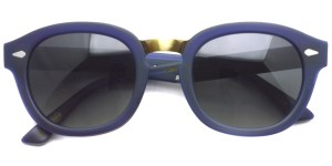 MOSCOT SUN  /  CONRAD /  MAT/NAVY/GOLD  - SMOKE (Polar)  /  ¥39,000 + tax
